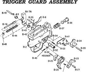 Glock Schematic Parts on m16 full auto parts diagrams